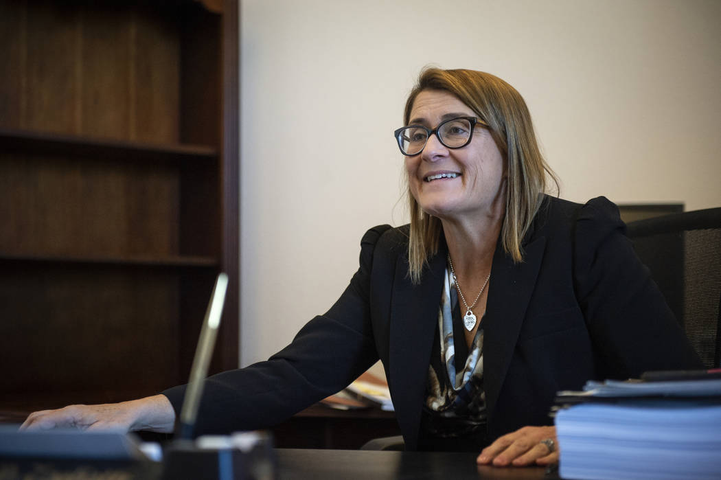 District Judge Jennifer Togliatti discusses her plans to serve as a senior judge and oversee se ...