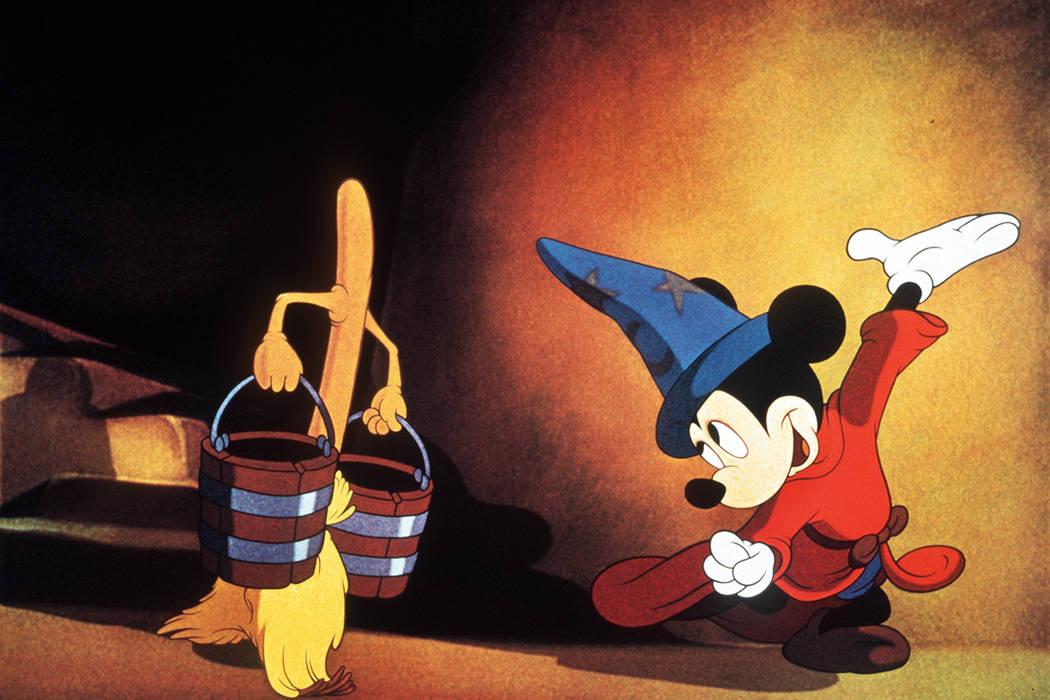 Mickey mouse Fantasia 2000 (Disney)