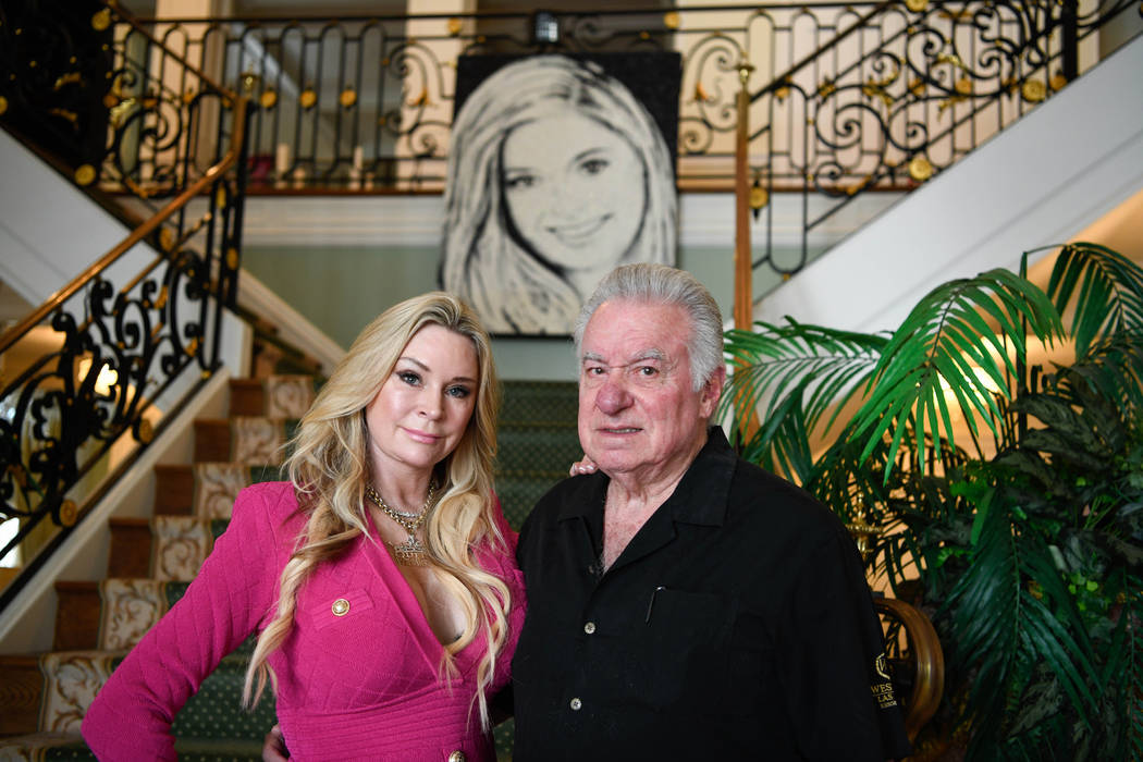 David and Jackie Siegel in their home in Windermere, Fla. on Oct. 17, 2019. The Siegel's daught ...