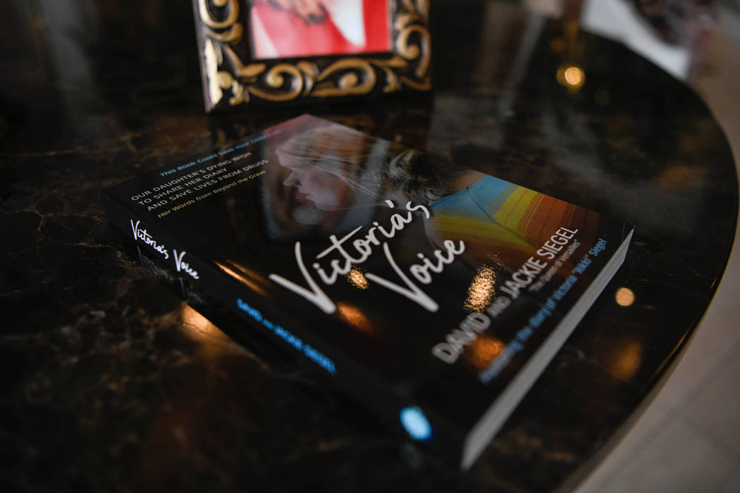 Victoria's Voice written by David and Jackie Siegel in their home in Windermere, Fla. on Oct. 1 ...