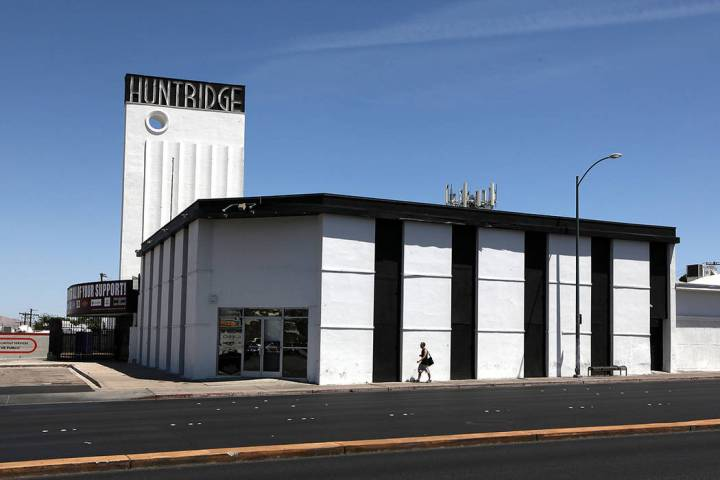 The Huntridge Theater in Las Vegas on Monday, May 19, 2014. A Las Vegas city official said Wedn ...