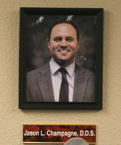 A portrait of Nevada State Board of Dental Examiners member Dr. Jason L. Champagne. (Bizuayehu ...