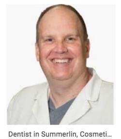 Screenshot from the web of dentist Troy J. Trobough