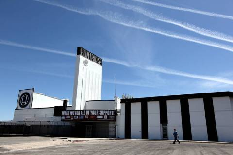 The Huntridge Theater in Las Vegas (Justin Yurkanin/Las Vegas Review-Journal)