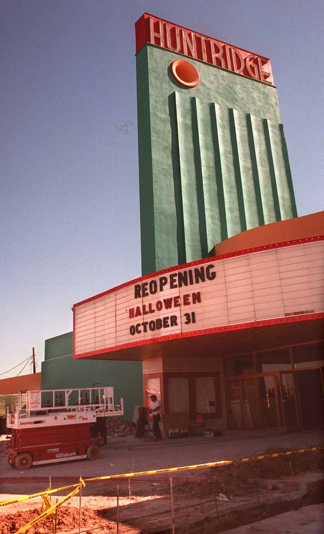 Huntridge Theater (Review-Journal file)
