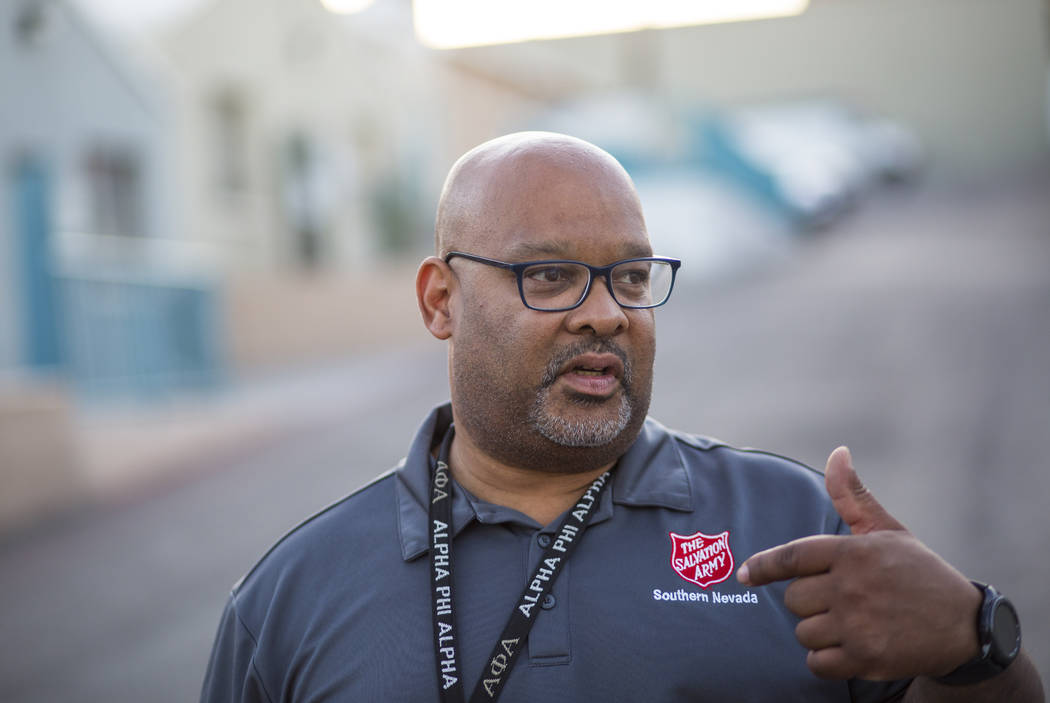 Jawan Mullen, homeless services liason at The Salvation Army, talks about the different offerin ...