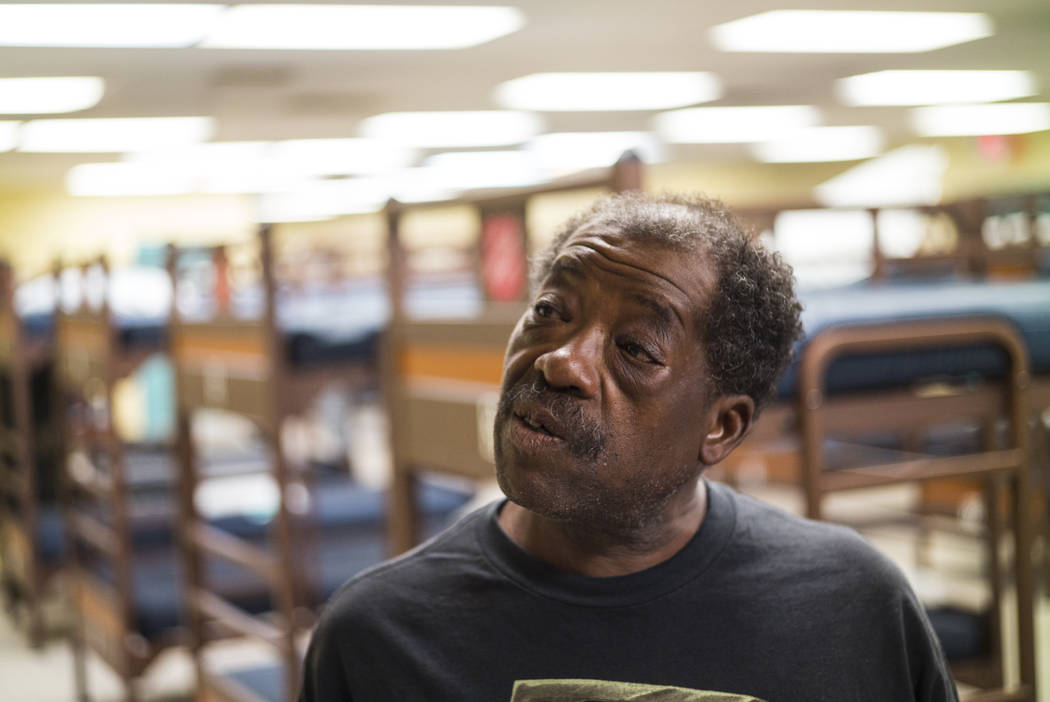 Anthony Lowe, who has been homeless since last December, talks about utilizing The Salvation Ar ...