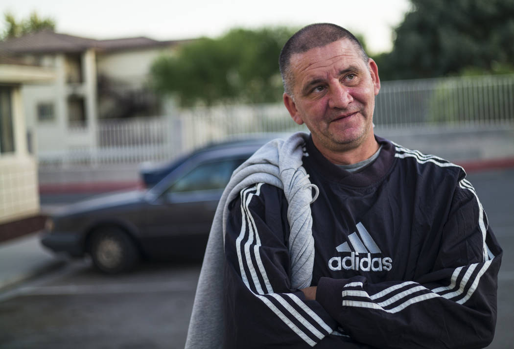 Bogoljub Ristic, who is homeless, talks about utilizing The Salvation Army homeless shelter nea ...