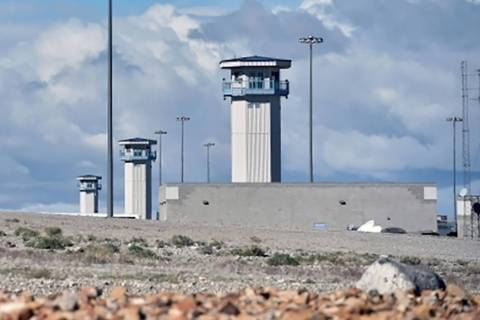 High Desert State Prison in Indian Springs, Nevada. (David Becker/Las Vegas Review-Journal)