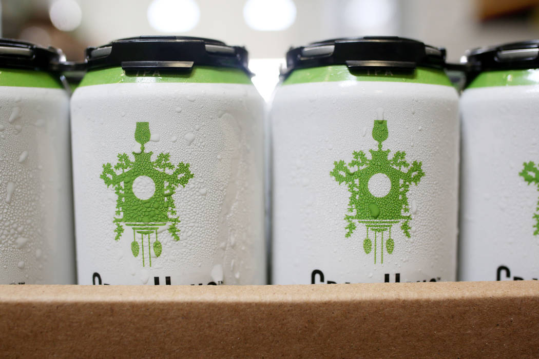CraftHaus Brewery's in house canned craft beer which has raised in price due to the change in i ...
