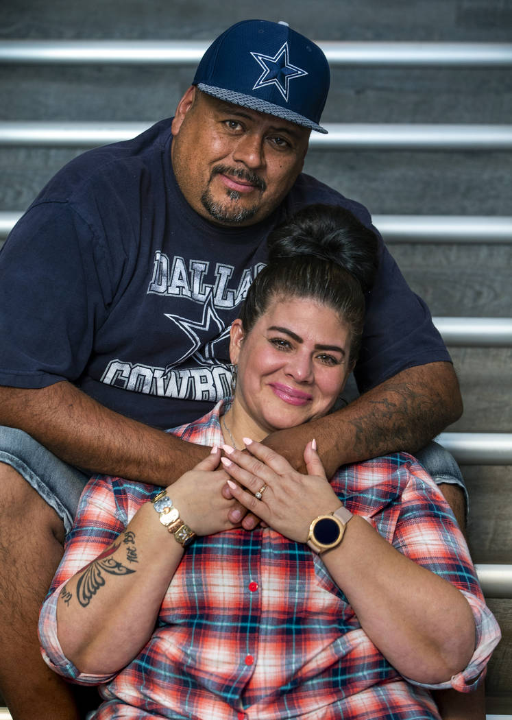 Hanna and Jerry Olivas talk about her decision to move to California where the law will allow h ...