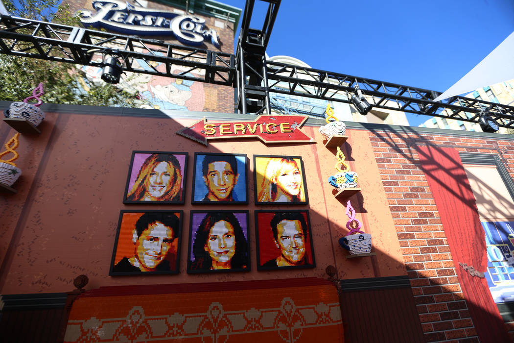 "Inside the ""Friends"" Fan Experience at New York-New York hotel-casino in Las Vegas, Saturda ..."