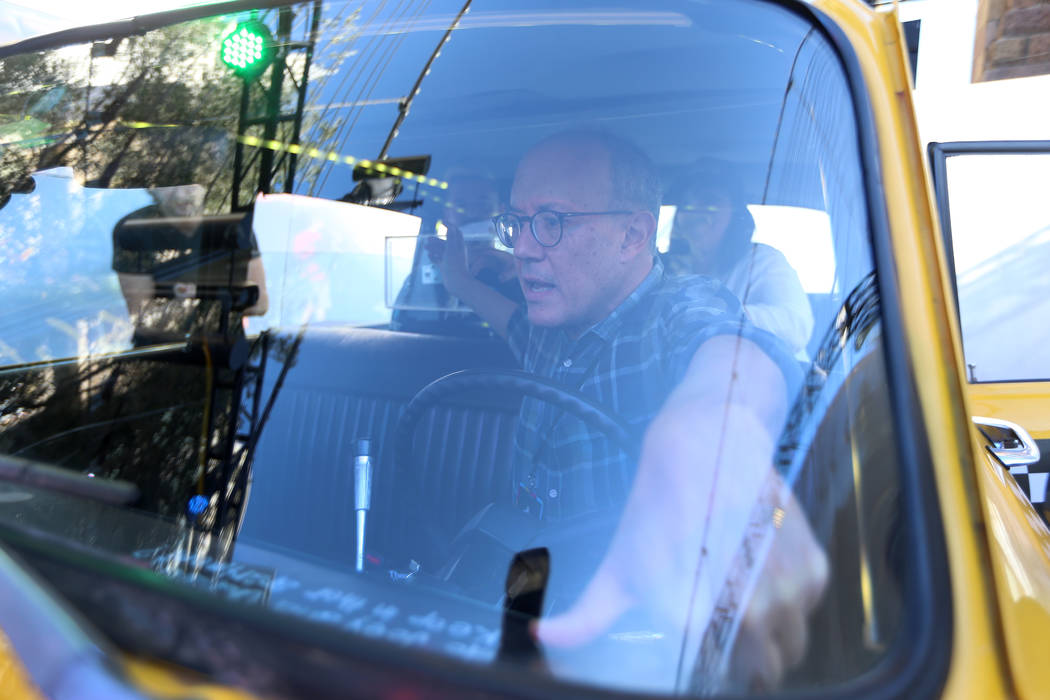 "David Craine, co-creator of the ""Friends"" television show, takes on Phoebe's Yellow Cab Escape ..."