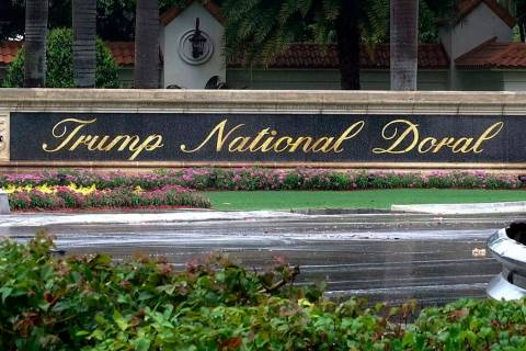 Trump National Doral in Doral, Fla. (AP Photo/Alex Sanz)