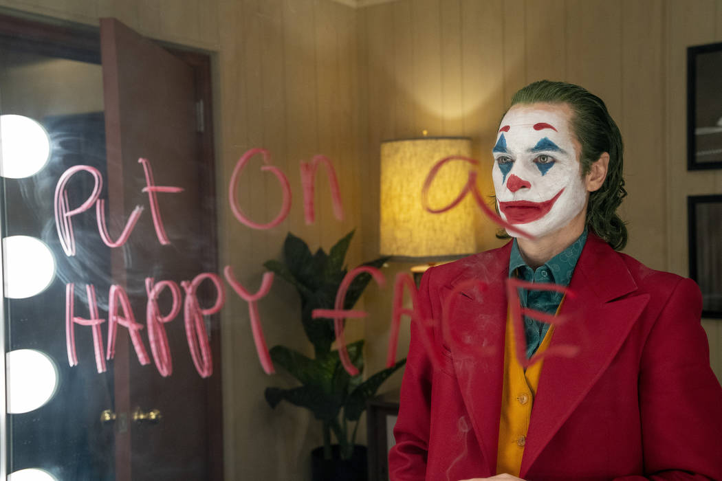 This image released by Warner Bros. Pictures shows Joaquin Phoenix in a scene from the film, &q ...