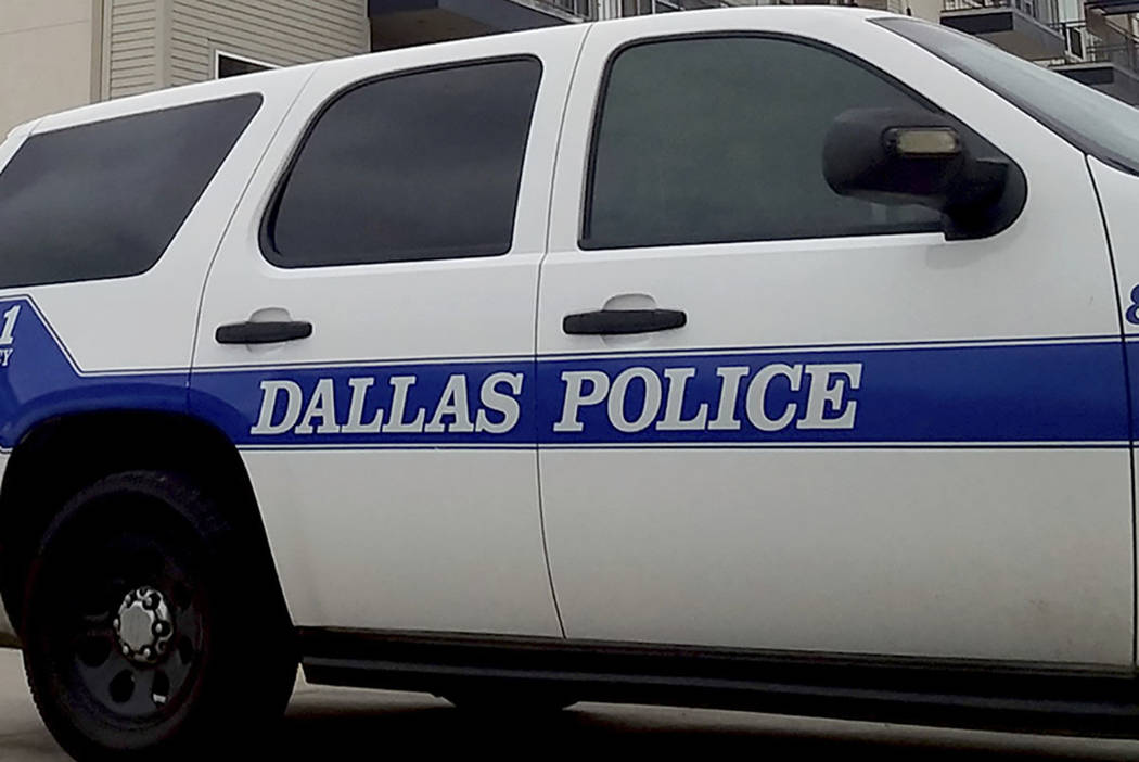 A Dallas Police vehicle (AP Photo/Ryan Tarinelli)