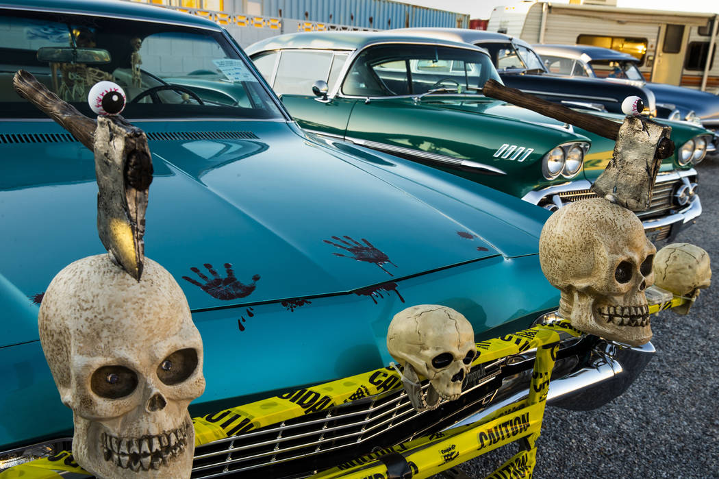 A small classic car show is also on the event list during the 2nd Annual Fall into the Blues Fe ...