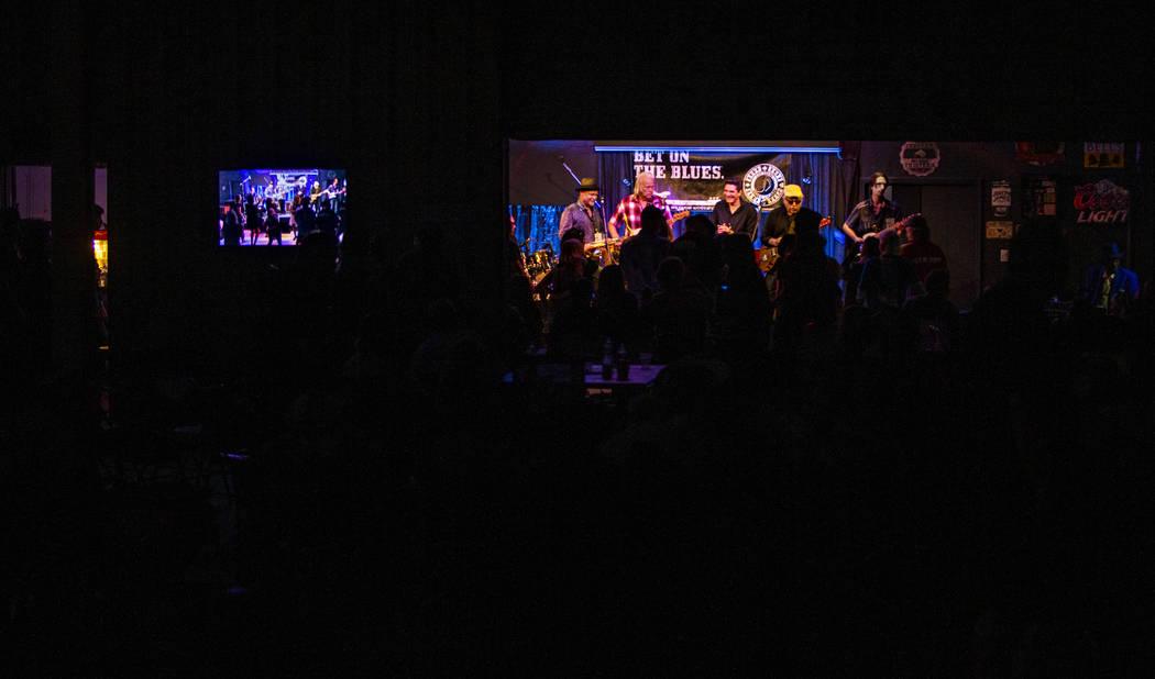 Blues Music Award winners Bob Margolin, Bob Corritore and legendary Leon Blue join the Las Vega ...
