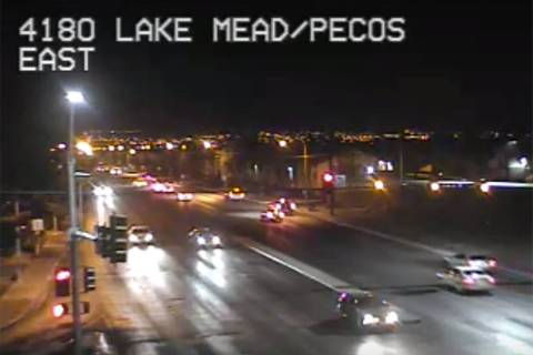 Lake Mead and Pecos in Las Vegas (RTC Fast Cameras)