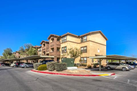 Oak Residential Partners acquired Las Vegas apartment complex Hacienda Heights, seen here, for ...