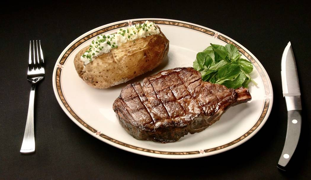 During NFR 2018, the Silverado Steakhouse and Don Vito's served 6,588 steaks and/or cuts of pri ...