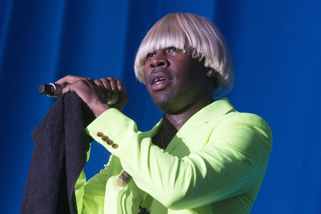 Tyler, the Creator performs on Day 1 of the 2019 Firefly Music Festival at The Woodlands on Fri ...