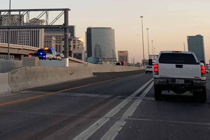 The Nevada Highway Patrol launched five Strategic Traffic Management Sites along area trouble s ...