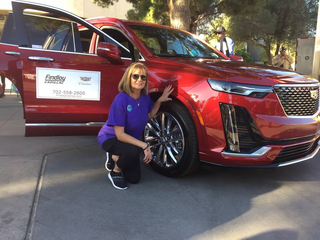 Nevada PEP Community Development Director Stephanie Vrsnik completed the Findlay Automotive Gro ...