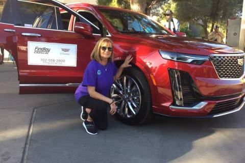 Nevada PEP Community Development Director Stephanie Vrsnik completed the Findlay Automotive Gro ...