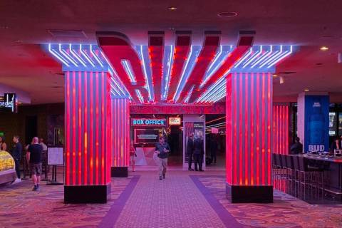 "A piece of the entrance experience at ""R.U.N"" at Luxor is shown on Tuesday, Oct. 22, 2019. (Joh ..."