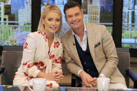 """Live With Kelly and Ryan"" is coming to Las Vegas. (Pawel Kaminski, Disney-ABC Home Enterta ..."