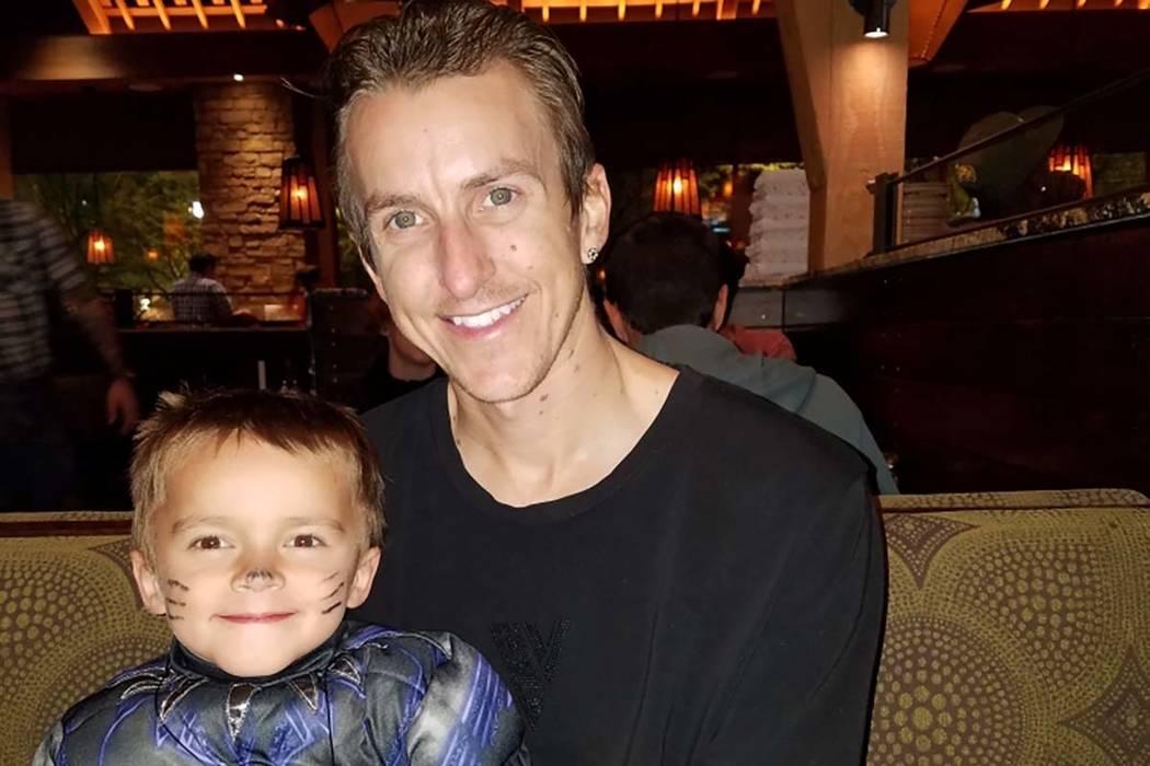 GavinMurrayPalmer with his father, Sean Murray (Sean Murray)