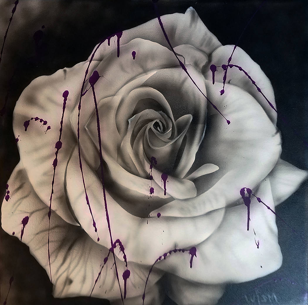 """A Purple Rose"" by Lou Isms"