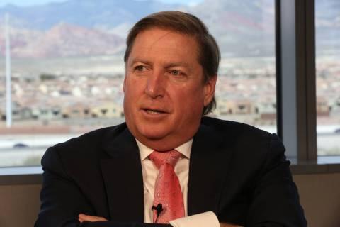 Daniel Lee, CEO of Full House Resorts (Michael Quine/Las Vegas Review-Journal) @Vegas88s