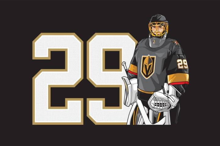 Marc-Andre Fleury patch (Smith's)