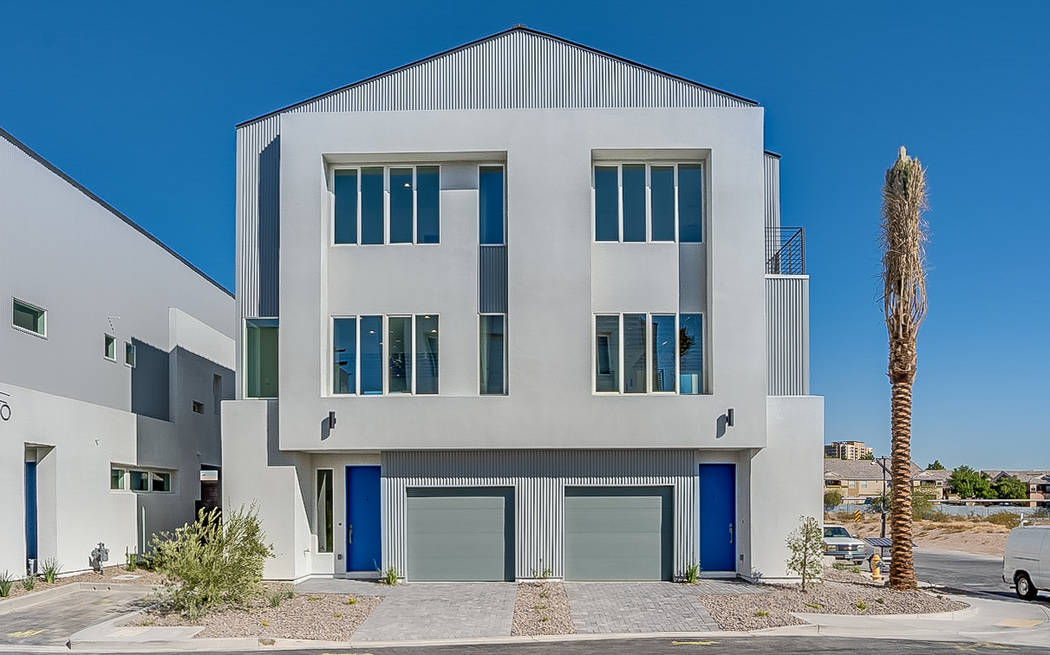 Paragon Lofts, a new community of town homes, features attached two-car tandem garage. (Paragon ...