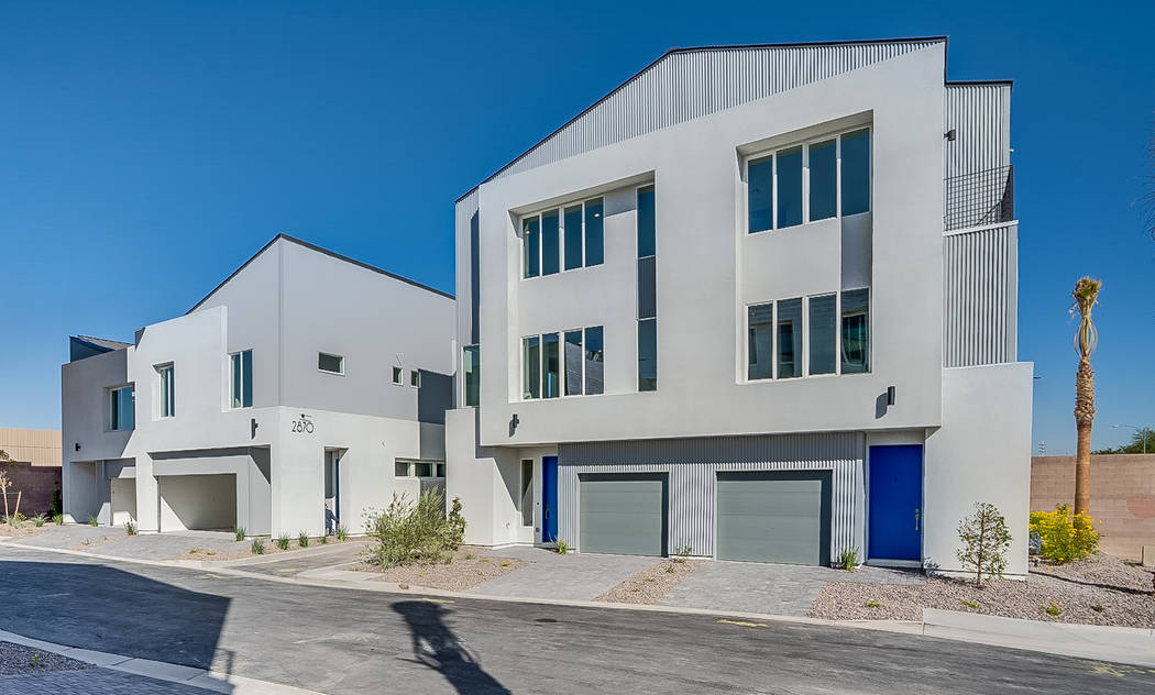 Paragon Lofts, a new community of modern-industrial town homes, celebrates its grand opening Sa ...