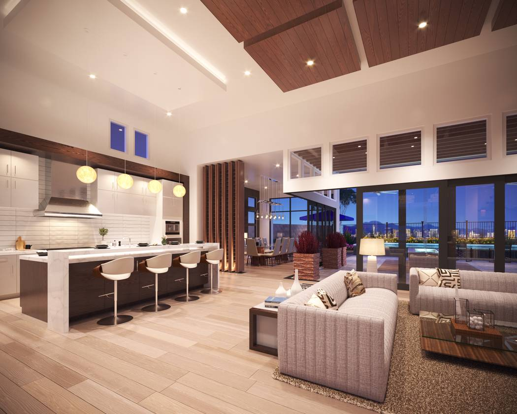 Mesa Ridge, a luxury Summerlin community by Toll Brothers, will celebrate the grand opening of ...