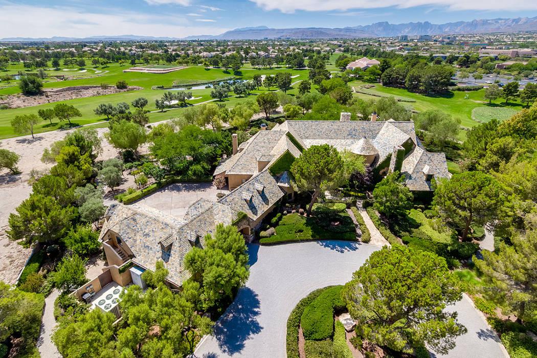 Gaming executive Barry Shier lists Billionaires Row home for $16.5 million. (Fraser Almeida /Lu ...