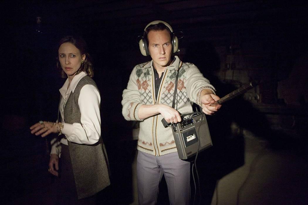 "Vera Farmiga and Patrick Wilson portray Lorraine and Ed Warren in ""The Conjuring."" (Warner Bros ..."