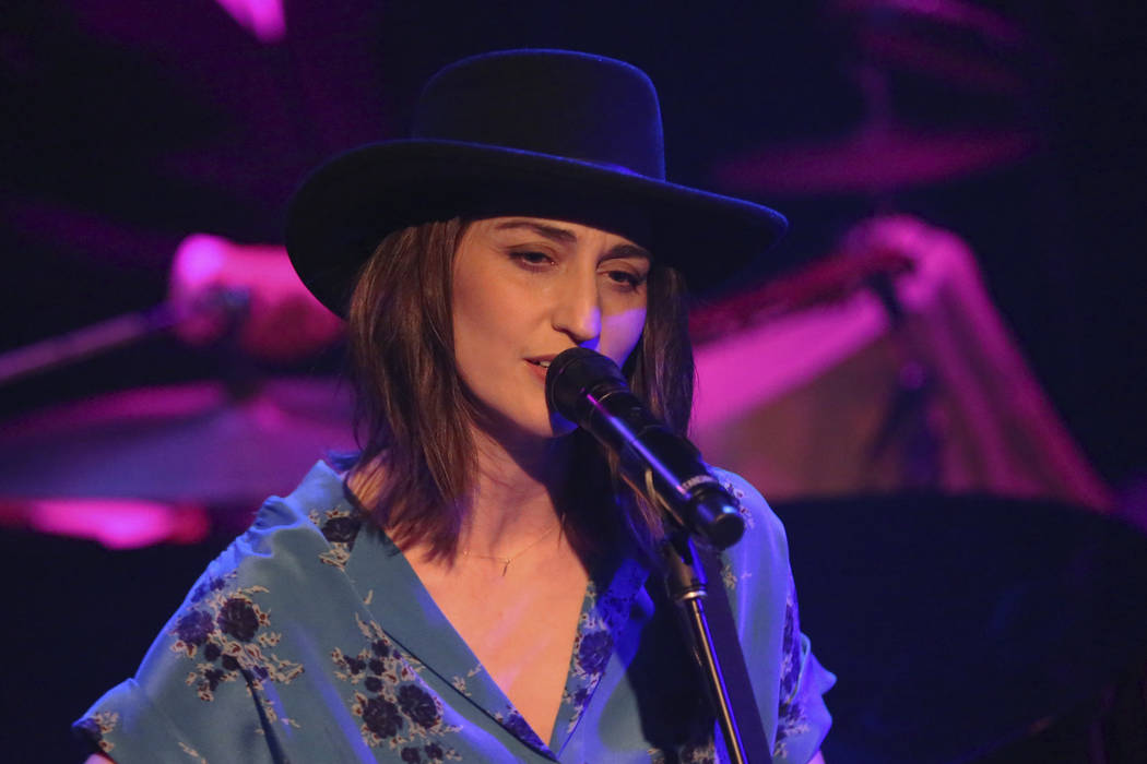 Sara Bareilles performs live at the Troubadour on Tuesday, March 19, 2019, in West Hollywood, C ...