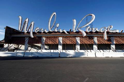 The Moulin Rouge hotel-casino on Bonanza Road near downtown Las Vegas is shown Thursday, Nov. 4 ...