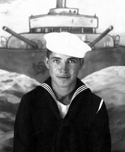 Seaman 2nd Class Moyses Alfonso Martinez is pictured here shortly after he entered the Navy in ...