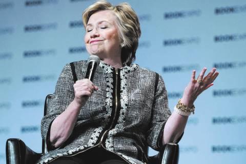 Hillary Clinton (Craig Ruttle/AP file)