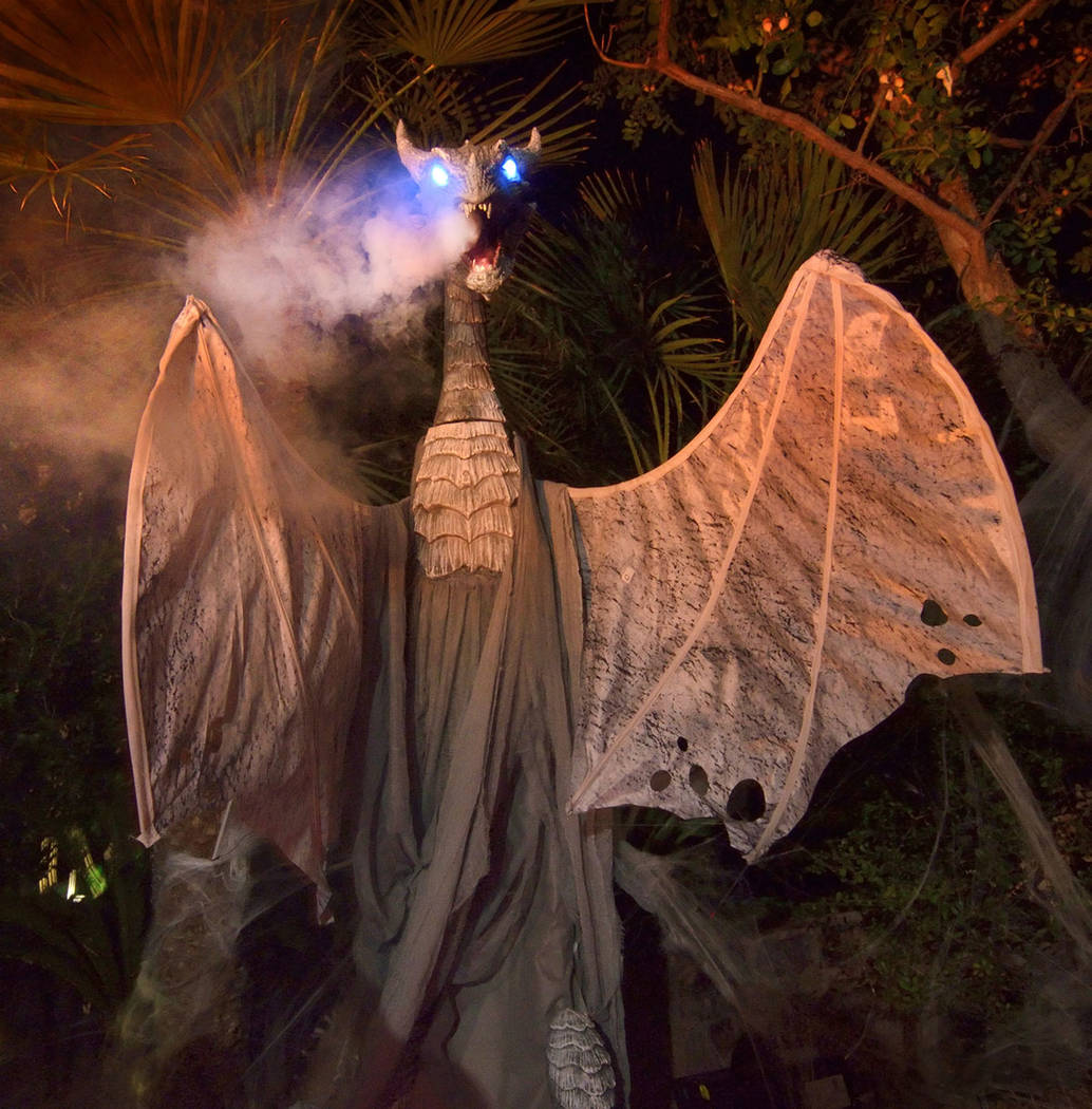 MacDonald Highlands resident Carmine Vento goes all out for Halloween. (Bill Hughes Real Estate ...