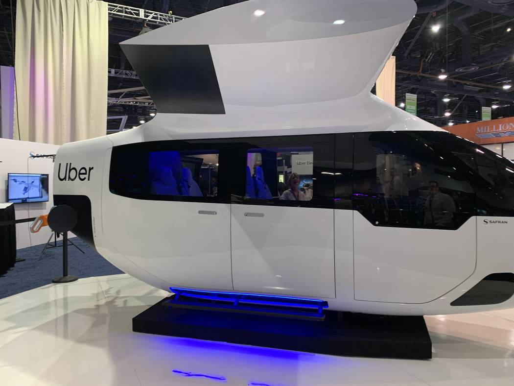A prototype aircraft from Safran that could be part of Uber Air as the company aims to launch t ...