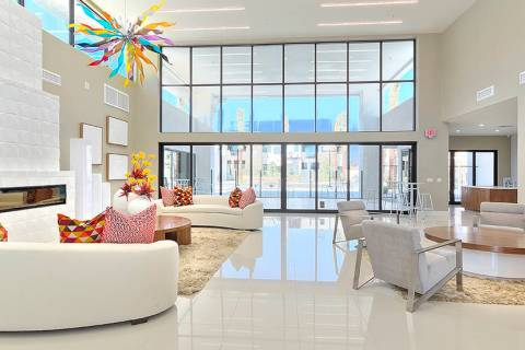 Revolution, a 340-unit luxury apartment community, has opened in Henderson. (WestCorp Managemen ...