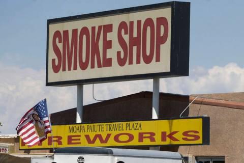 Moapa Paiute Travel Plaza (Las Vegas Review-Journal)