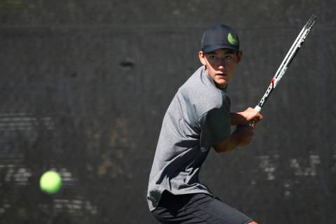Axel Botticelli will try to help Palo Verde to a Class 4A state tennis title.