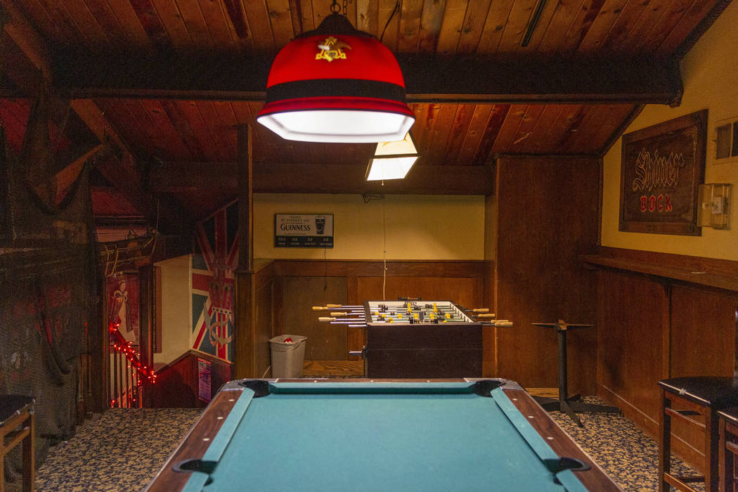 The game room on the top floor of Crown & Anchor Pub that allegedly has countless accounts of e ...
